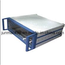 Aluminium-Stanzteile für das Kabinett benutzt