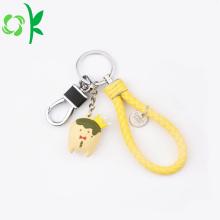 Custom Soft PVC Keychain Cute Silicone Design Keychain