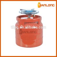 6kg empty composite lpg gas cylinder