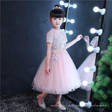 Schmetterlings-rosa Blumen-Mädchen-Kleid