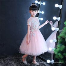 Butterfly Pink Flower Girl Dress