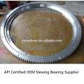 OEM Manufacture CAT 140 Slewing Ring Rotek Turntable