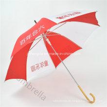 """Auto Open19 """"Logo Printed Promotion Gerade Regenschirm für Werbung (YSS0128)"""