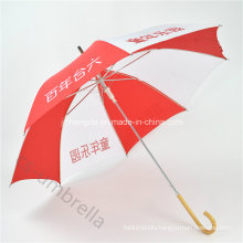 "Auto Open19"" Logo Printed Promotion Straight Umbrella for Advertising (YSS0128)"