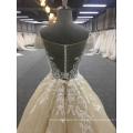 Dernière robe de mariée extensible Sexy Sheer Lace Back Vestido De Novia Espagne robes de mariée