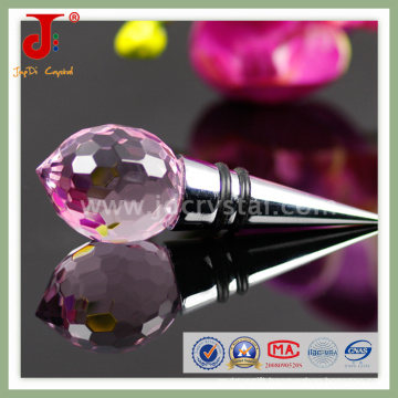 Crystal Wine Bottle Stopper for Wedding Gift (JD-WS-407)