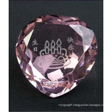 Crystal Heart Shape Diamond for Home Decoration