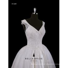 Vestido de noiva de primeira classe guangzhou fabricante high end feito sob medida vestido de noiva vestido de noiva vestido de noiva