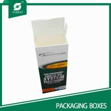 Hot Sell Ivory Paper Board Packing Boxes with Flip Inset Lids
