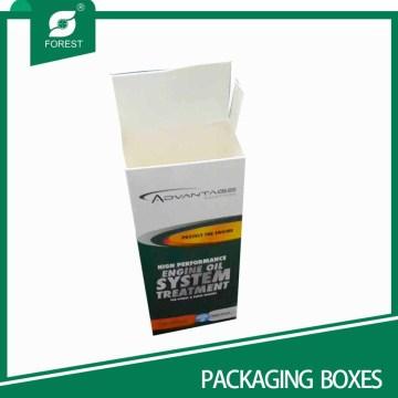 Hot Sell Ivory Paper Board caixas de embalagem com Flip Inset Tampas