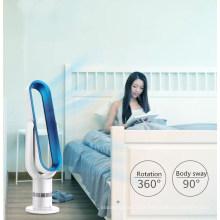 Pantalla táctil Liangshifu 18 pulgadas ventilador eléctrico de pie sin cuchilla