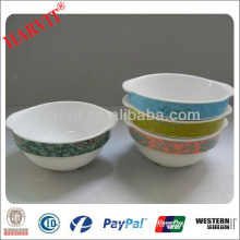 Tableware White Ceramic Oval Bowls/White Stoneware Pasta Bowls /Terracotta Bowl