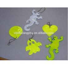Lovely Reflective Printing Key Chain, Soft PVC Key Chain Custom, Reflect Craft Product