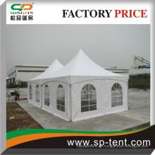 5x10m neues Produkt Zelt Qualität maßgeschneiderte Spannung Baldachin Zelt mit Zubehör