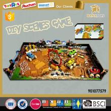 2016 jeux diy scènes jeux de puzzle 3d pour enfants