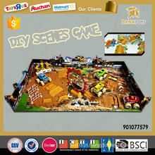 2016 diy scenes jogos 3d puzzle jogos para crianças
