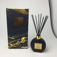 175ml reed diffuser in round glass bottle in gift box luxury for home