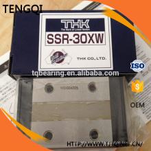 SSR30XW Japon THK SSR30 quatre rails guide linéaire de rails de glissière bloquer roulement / HIWIN et ABBA et PMI type similaire