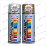 Wood vivid metallic effect spray paint