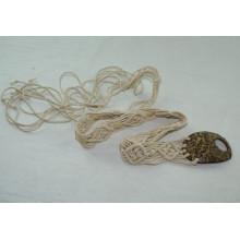 Mode Handgefertigte Kleidungsstück gewachste Schnur geflochtene Gürtel-KL0038