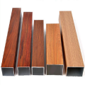Customized WOOD GRAIN Aluminum Furniture Profile