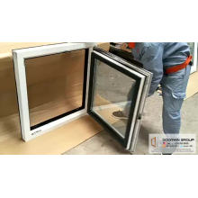 CE Certified Italian Client Purchased Wood Aluminum inside casement Turn and Tilt Opening Window
