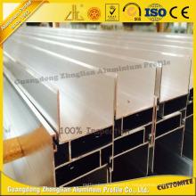 Porte coulissante en aluminium profilé en aluminium