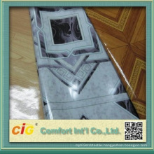 Indoor Usage and Plastic Flooring Type Wood Grain Flooring