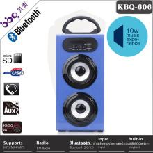 Wireless external metal attanna FM radio beats speaker