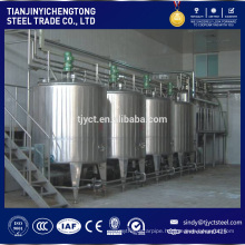 Homogenizer stainless steel mixing tank for juice