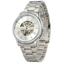 Stainless steel back and Strap wrist watch