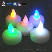 Caractéristique de LED et bougie flottante de type flottant