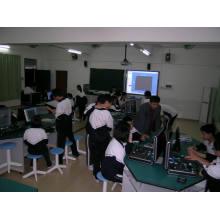 Capteur de laboratoire numérique pour l'enseignement des expériences de physique