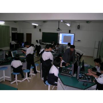 Sensor de laboratório digital para educação experimental em física