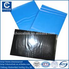 Membrane imperméable à l'eau et au bitume autocollant HDPE