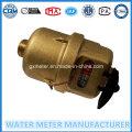 Brass Volumetric Kent Type Water Meter (LXD-15E-40E)