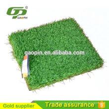 PE grün Kunststoff Dekoration Gras