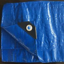 UV обработанный Поли Брезенты синий брезент