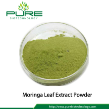 Health Supplements Polvo de Extracto de Hoja de Moringa