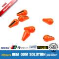 Tungsten Tear Drop Fluo Orange Heavier than Fishing Lead Sinkers