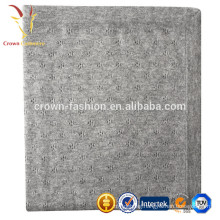 High Quality Soft Knitted Plain 100% Cashmere Wool Infant Baby Blanket