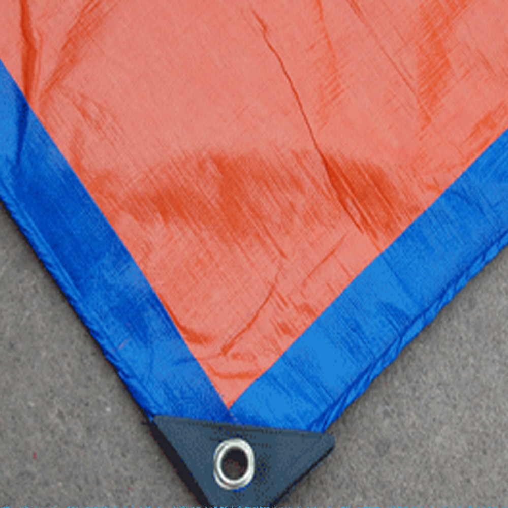 Light Duty Orange Blue Tarpaulin Sheet