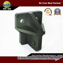 Отбойник Крепление матовый анодированный CNC подвергал алюминиевые части механической обработке обслуживание CNC Филируя