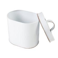 Маленькая жестяная коробка для упаковки чая