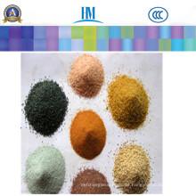 Farbiger Quarz / Silica / Kristall Sand / Granulat für Quarzstein