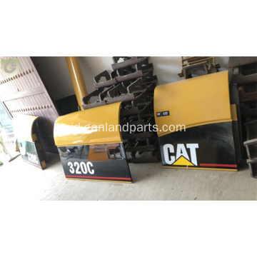 Side Doors Untuk CAT Caterpillar 320C Excavator