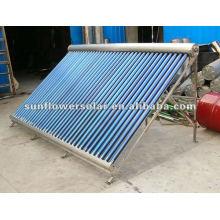 Tubo de calor de aleación de aluminio calentador de aire solar presurizado