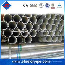 Productos más vendidos 2016 tubo de acero galvanizado redondo