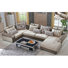 Big U Shape Fabric Sofa Furniture (889)