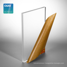 OLEG High Surface Hardness Customized Thickness Frosted Acrylic Sheet